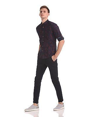 Cherokee Printed Long Sleeve Shirt
