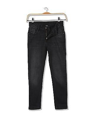 Cherokee Girls Slim Fit Dark Wash Jeans