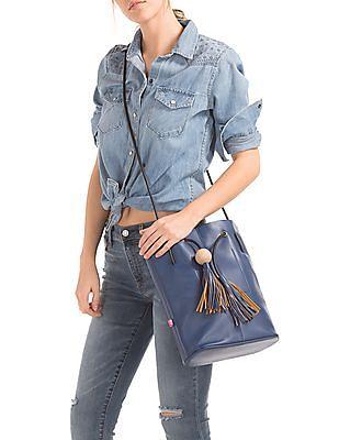 Cherokee Tasselled Tie Sling Bag