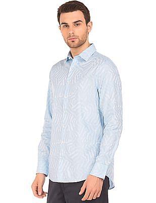 Gant Jacquard Regular Fit Shirt