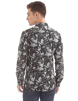 Colt Printed Regular Fit Shirt