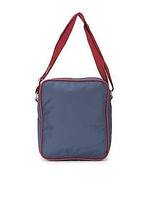 U.S. Polo Assn. Contrast Trim Messenger Bag