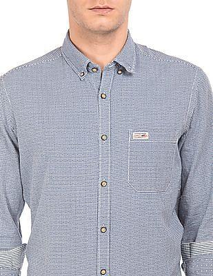 U.S. Polo Assn. Denim Co. Button Down Dobby Weave Shirt