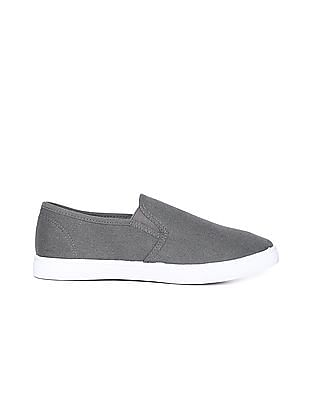 Flying Machine Canvas Slip On Shoes