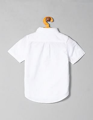 GAP Toddler Boy Oxford Short Sleeve Shirt