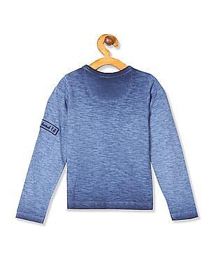Cherokee Boys Long Sleeve Graphic T-Shirt