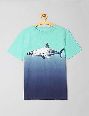 GAP Boys Tie-Dye Graphic Short Sleeve T-Shirt