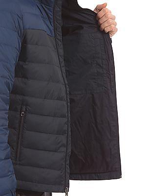 Nautica Colour Block Down Feather Jacket