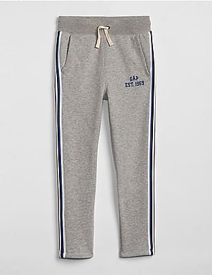 GAP Boys Logo Slim Fit Pull-On Pants