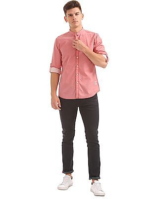 Cherokee Regular Fit Patterned Shirt