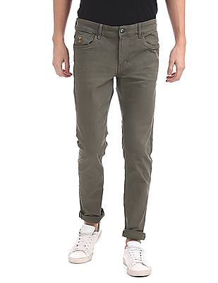 4c3ac2d3cb U.S. Polo Assn. Denim Co. Slim Tapered Fit Cotton Stretch Jeans