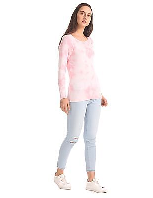 Aeropostale Regular Fit Dyed Sweater