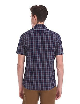 Ruggers Short Sleeve Check Shirt