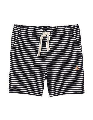 GAP Baby Blue Stripe Pull On Shorts