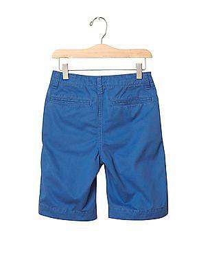 GAP Boys Flat Front Shorts