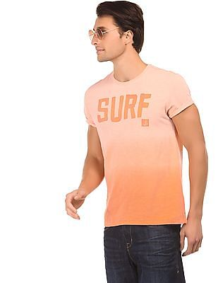 Bayisland Ombre Dyed Cotton T-Shirt