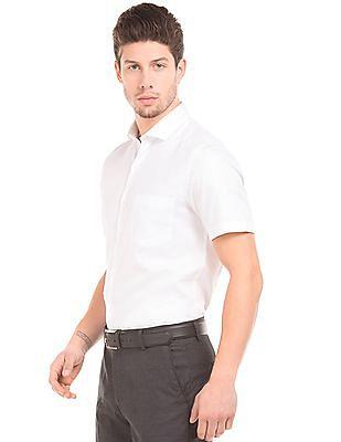 Elitus French Placket Short Sleeve Shirt