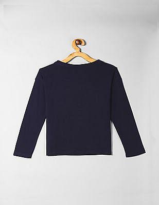 GAP Blue Girls Flippy Sequin T-Shirt