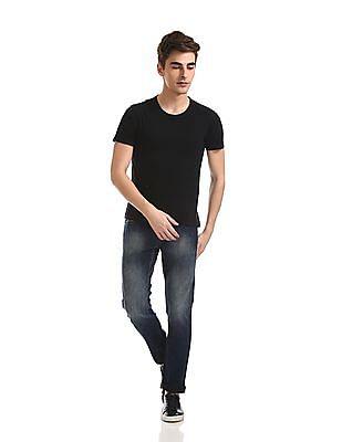 Flying Machine Michael Slim Tapered Fit Dark Wash Jeans