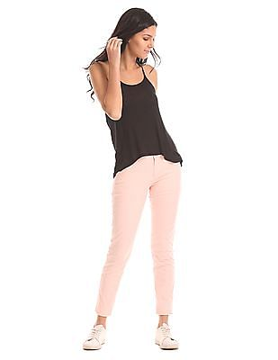 U.S. Polo Assn. Women Comfort Fit Flat Front Trousers