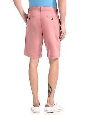 Aeropostale Regular Fit Solid Shorts