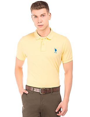 U.S. Polo Assn. Pique Slim Fit Polo Shirt