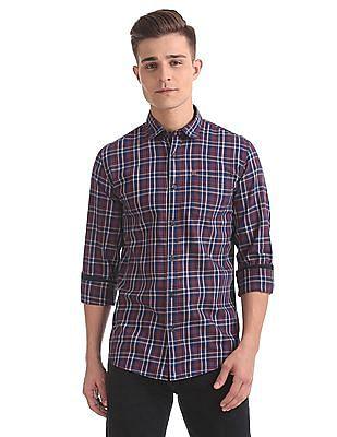Arrow Blue Jeans Company Slim Fit Long Sleeve Shirt