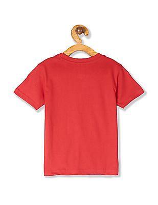 Cherokee Red Boys Crew Neck Graphic T-Shirt
