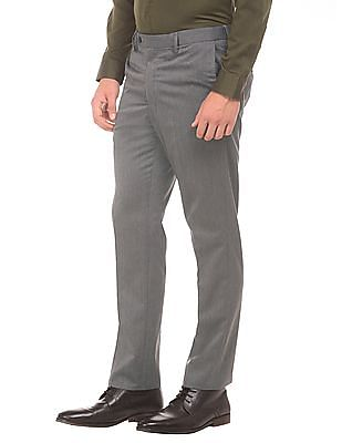 Arrow Autoflex Waist Tapered Fit Trousers
