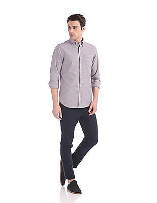 Gant The Oxford Houndstooth Regular Button Down Shirt
