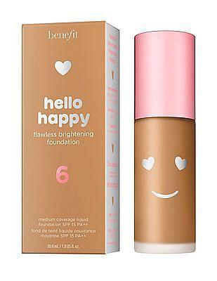 Benefit Cosmetics Hello Happy Flawless Liquid Foundation - Shade 06