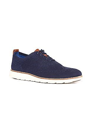 Cole Haan Blue OriginalGrand Stitchlite Wingtip Oxford Sneakers