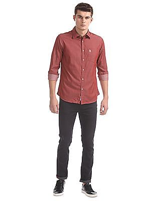 U.S. Polo Assn. Standard Fit Solid Shirt