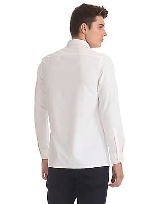 Excalibur Solid Cotton Blend Shirt