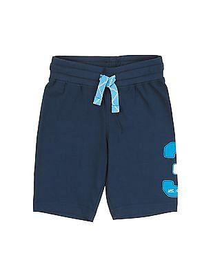U.S. Polo Assn. Kids Boys Drawstring Waist Knit Shorts