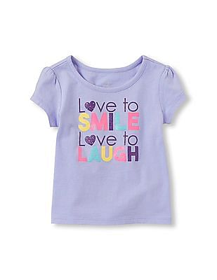 The Children's Place Toddler Girl Graphic Top