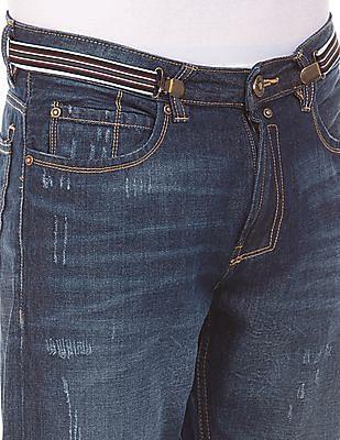 Cherokee Slim Fit Distressed Jeans