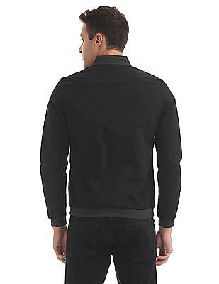 Arrow Sports Zip Up Bomber Jacket