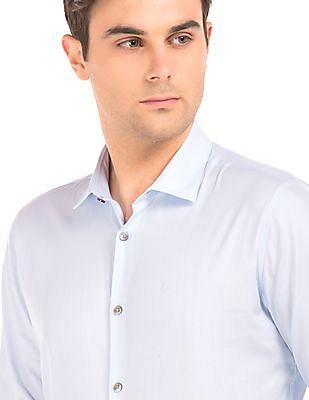 Calvin Klein French Placket Slim Fit Shirt
