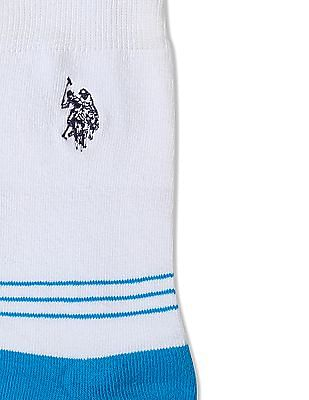 U.S. Polo Assn. Colour Block Crew Socks