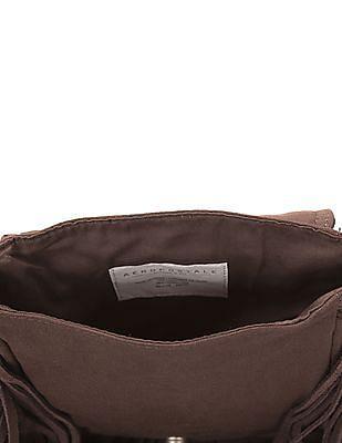 Aeropostale Fringed Crossbody Bag