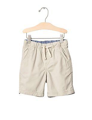 GAP Baby White Pull On Shorts