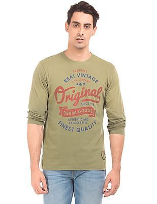 Cherokee Slim Fit Printed T-Shirt