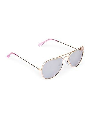 The Children's Place Girls Butterfly Metal Sunglasses