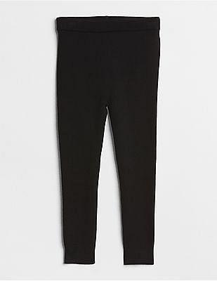 GAP Baby Black Sweater Leggings