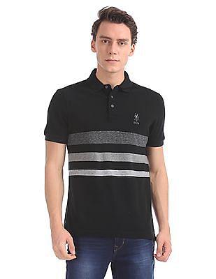 U.S. Polo Assn. Denim Co. Slim Fit Striped Polo Shirt
