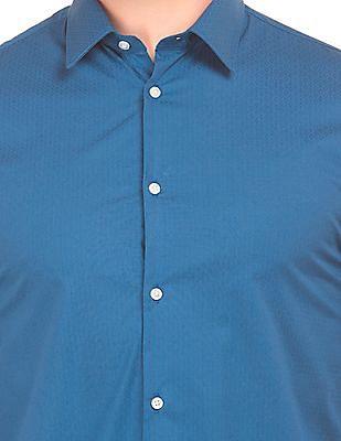 Arrow Newyork Patterned Super Slim Fit Shirt