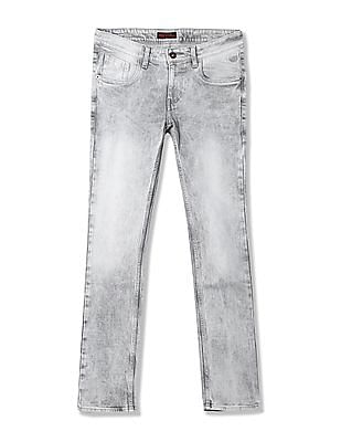 Flying Machine Jackson Skinny Fit Low Rise Jeans