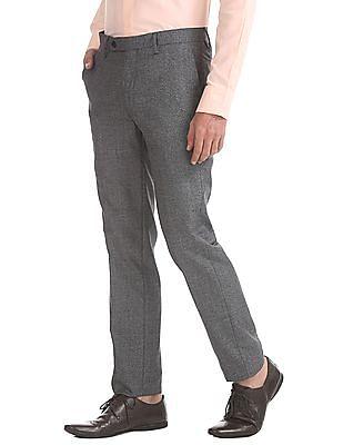 Arrow Slim Fit Heathered Trousers