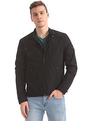 U.S. Polo Assn. Denim Co. Quilted Panel Solid Jacket